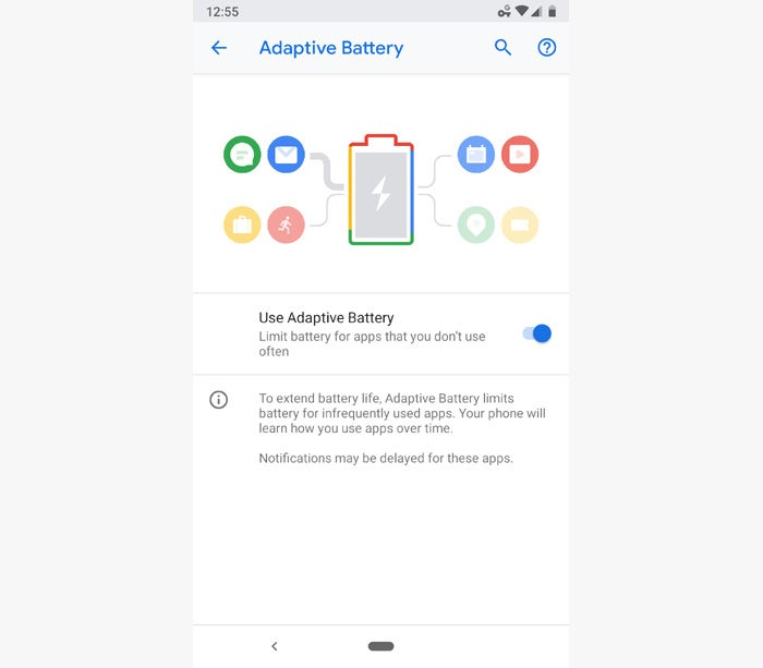 android pie tips adaptive battery