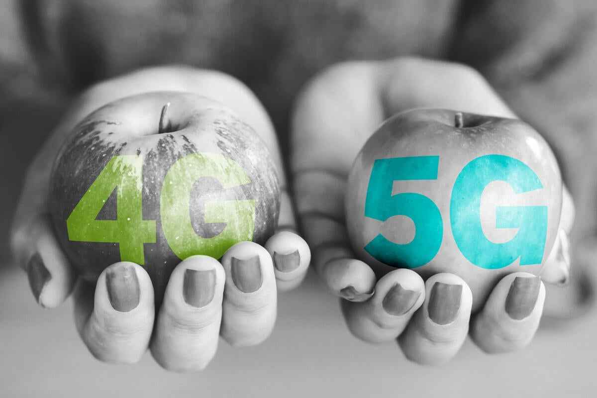 5G versus 4G: How speed, latency and application support differ