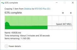 970 evo plus slowdown b