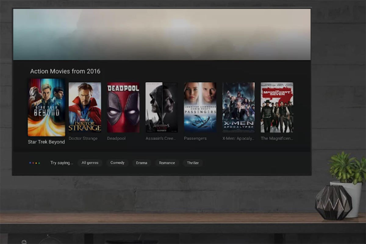 android tv search