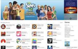 apple game store
