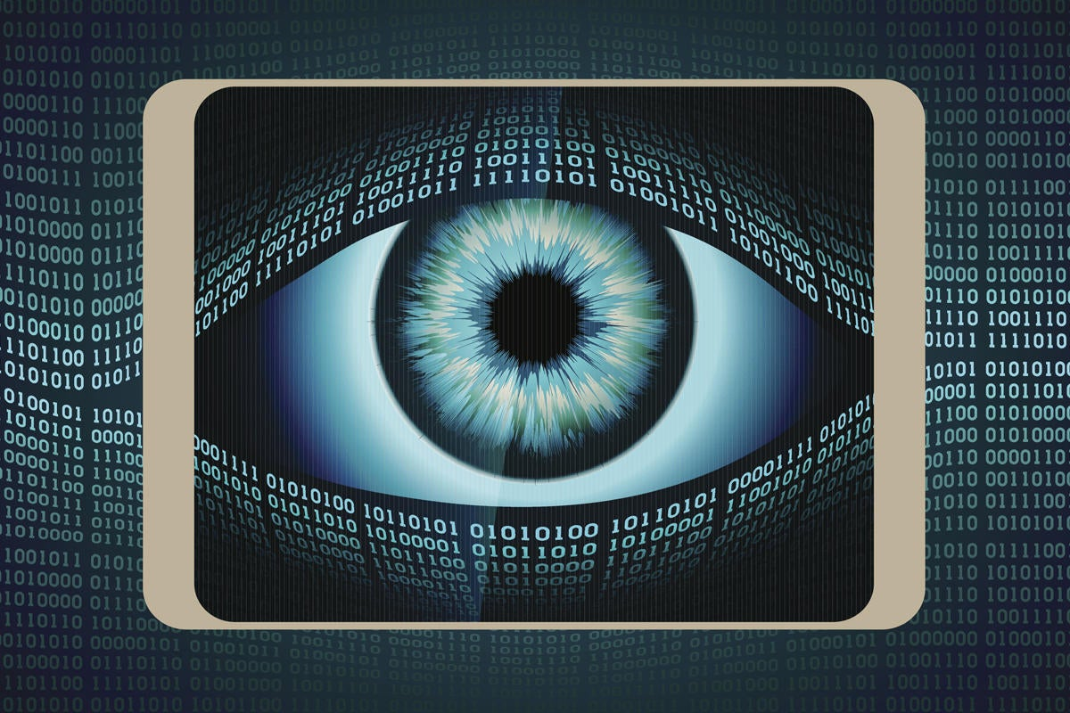 big brother privacy eye data breach security binary valerybrozhinsky getty