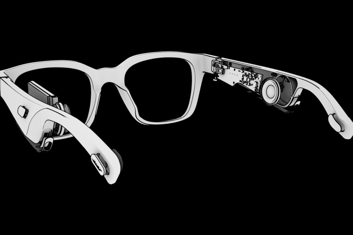 bose frames cutaway