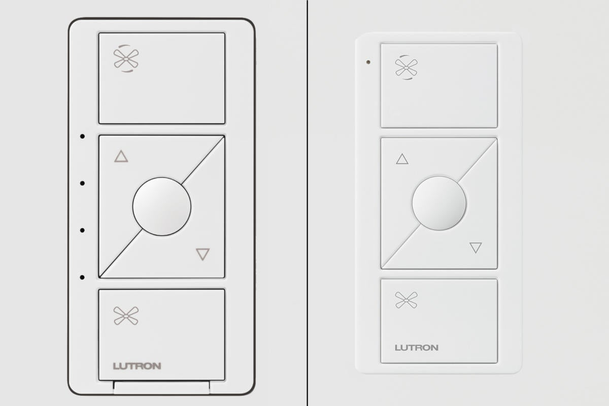 lutron adds a smart ceiling fan controller to the cas u00e9ta