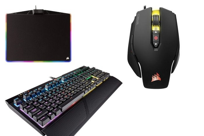 c67e2de30f8 Grab a Corsair gaming keyboard, mouse, and mousepad for nearly $100 ...