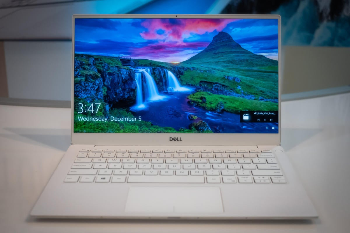 Finally! The Dell XPS 13 9380 puts the camera in the right