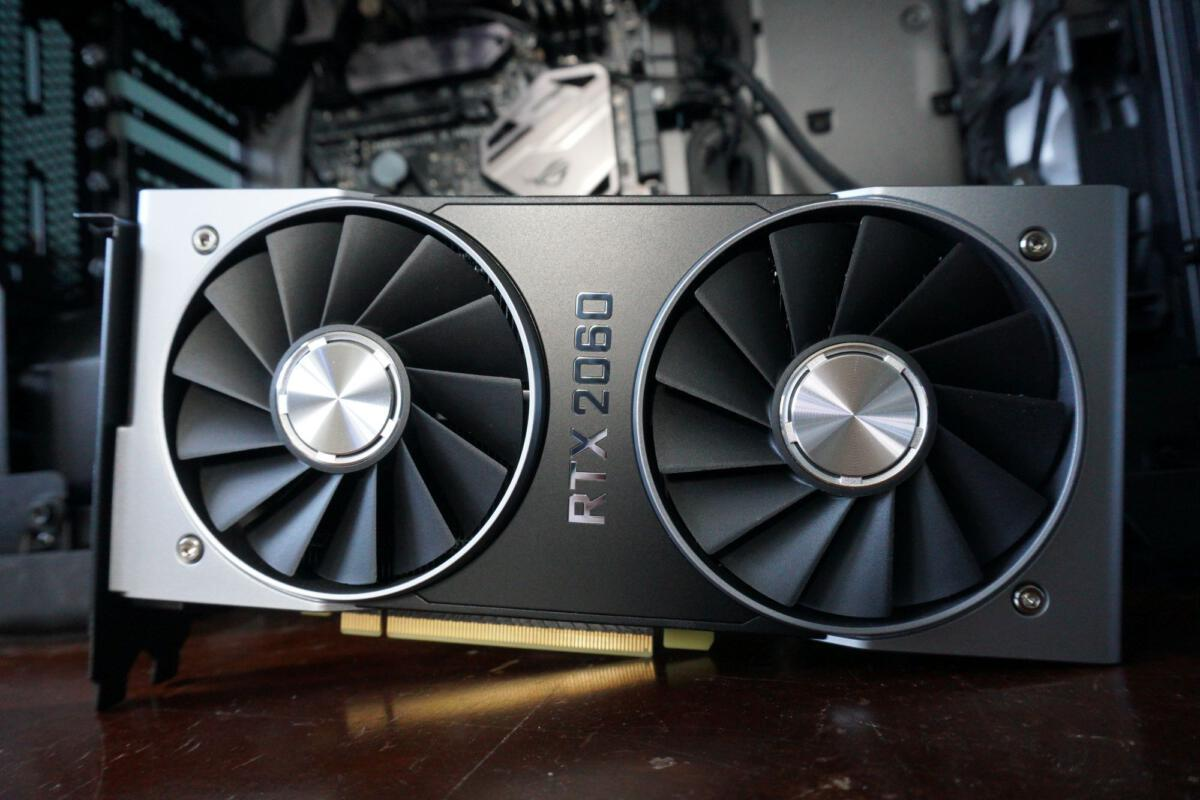 Nvidia Geforce Rtx 2060 Founders Edition Review Ray