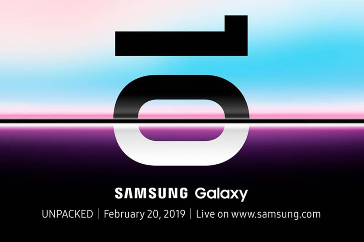 photo image Samsung's Galaxy S10 will launch on Feb 20, and we only have one question: Will it fold?