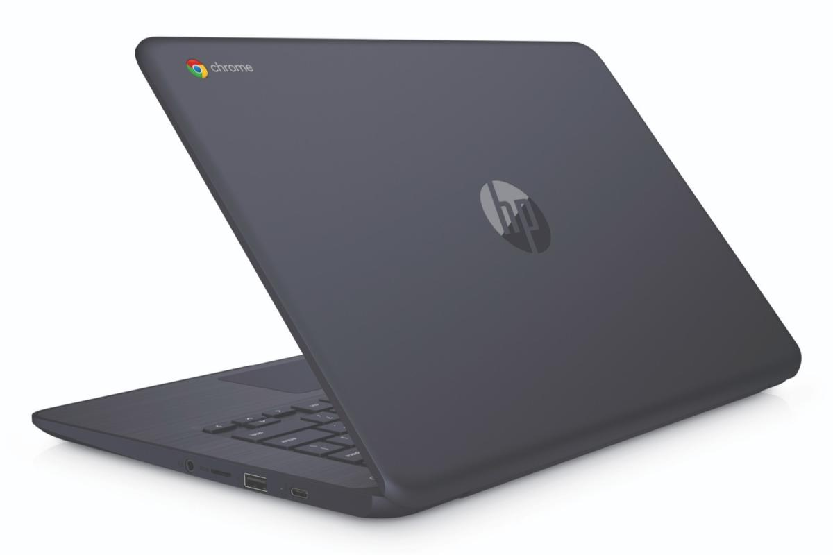 hp chromebook 14 inkblue  rearleft edited