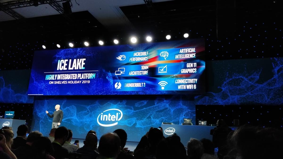 Intel Ice Lake ces 2019
