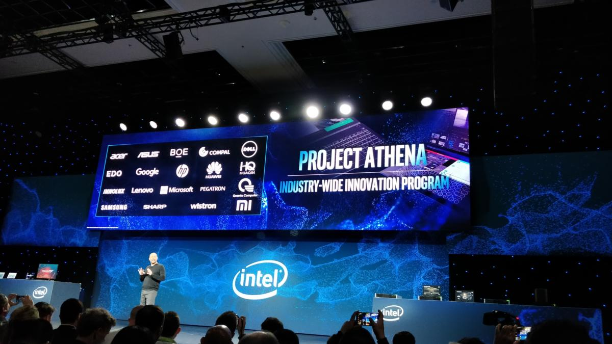 Intel Project Athena CES