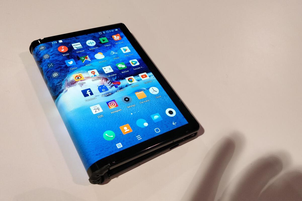 photo of Victory, Royole: The FlexPai is the first folding phone we've seen image