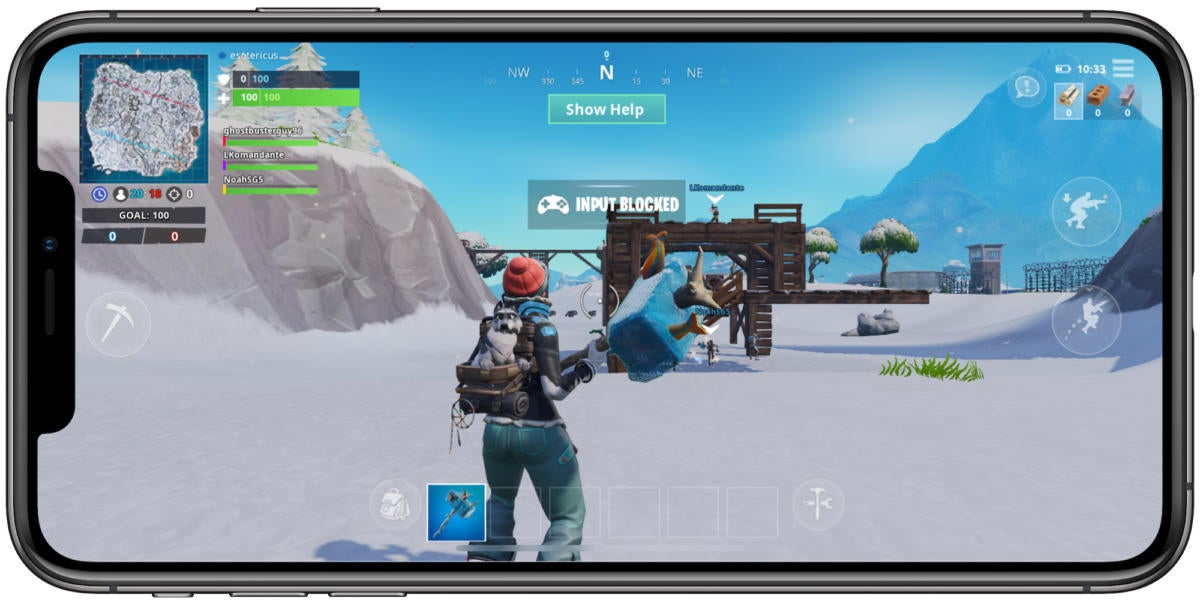 Fortnite for iPhone now supports MFi controllers, and that's