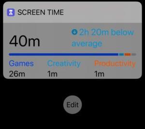 Verwenden der heutigen iPhone-Ansicht Zeigen Sie die Widgets an und verwalten Sie sie