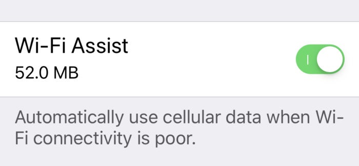 ios12 wifi assist