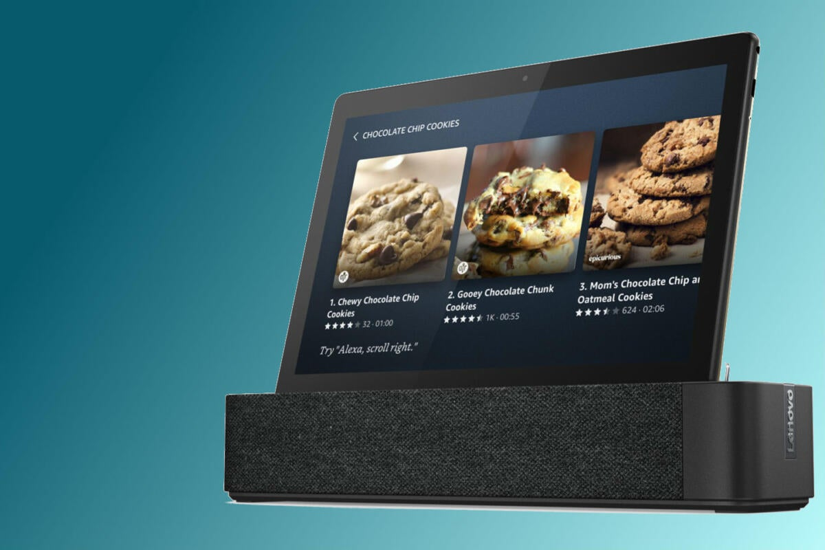 Lenovo Builds Amazon Alexa Into Its Smart Tab M10 And P10