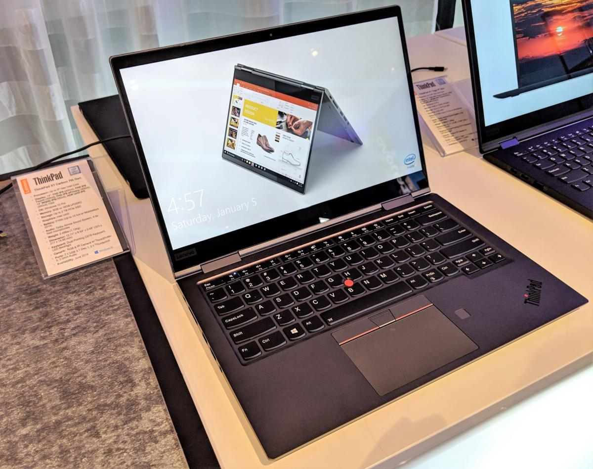 Lenovo's ThinkPad X1 Carbon, X1 Yoga slim down with 8th-gen
