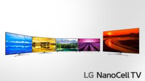lg nanocell tv range