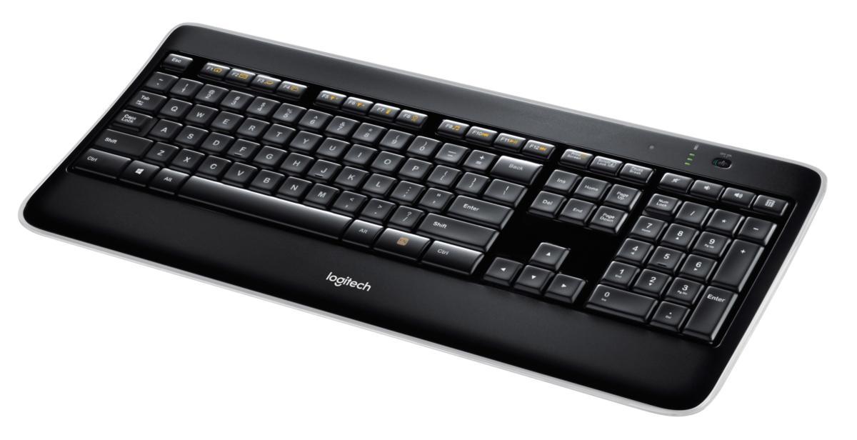 815e8a764f7 Logitech K800 Wireless Illuminated Keyboard: Providing the light to ...