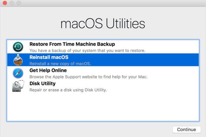 Bleiben Sie in macOS Recovery mit einer Sprache, die Sie nicht sprechen? Um dies zu beheben, können Sie Folgendes tun: