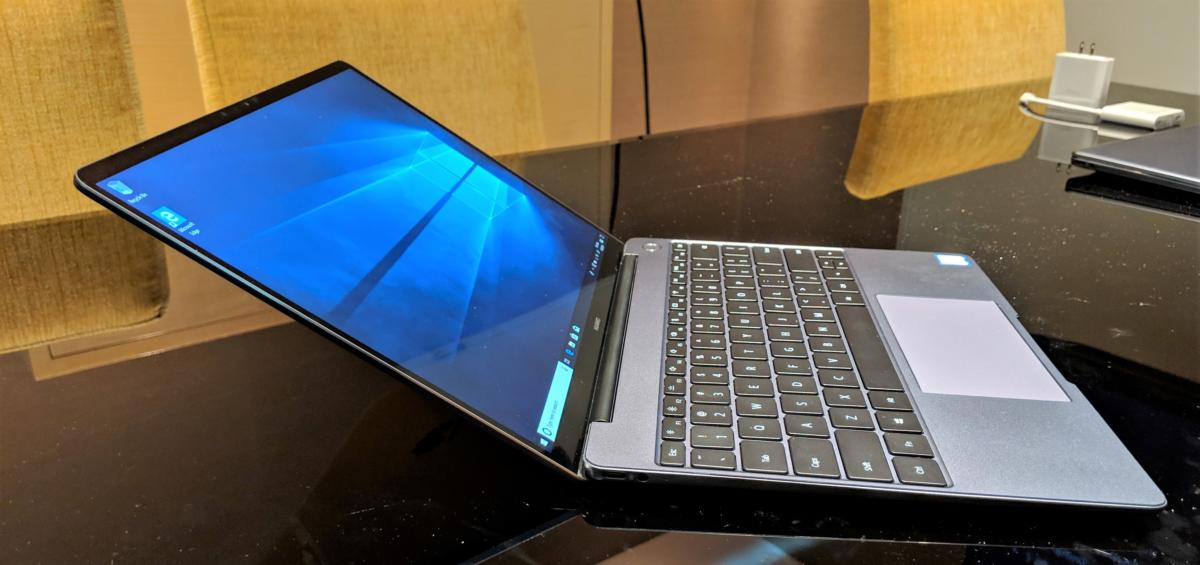 8dfe356b8 Hands on  Huawei s Matebook 13 shrinks the Matebook X Pro into a ...
