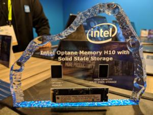 Intel Optane plus flash