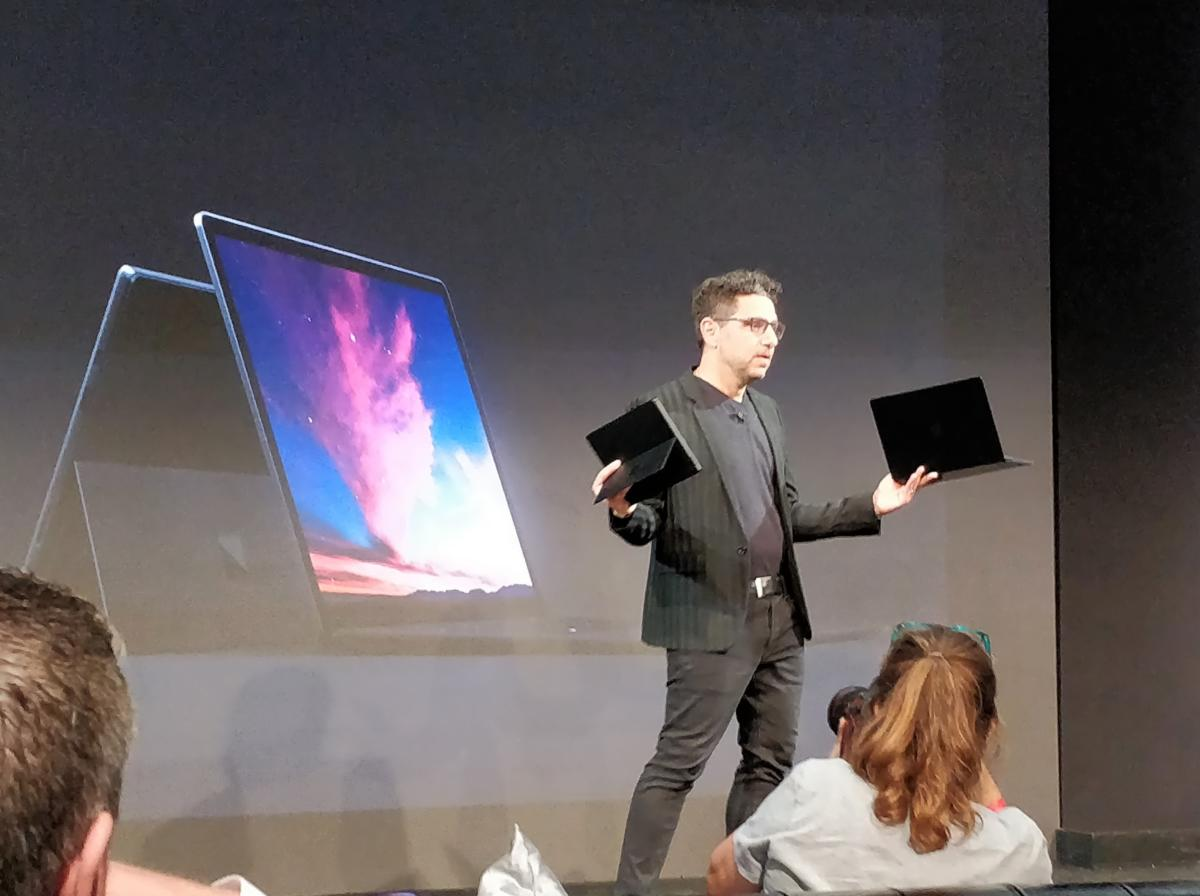 panos panay surface pro 6 launch
