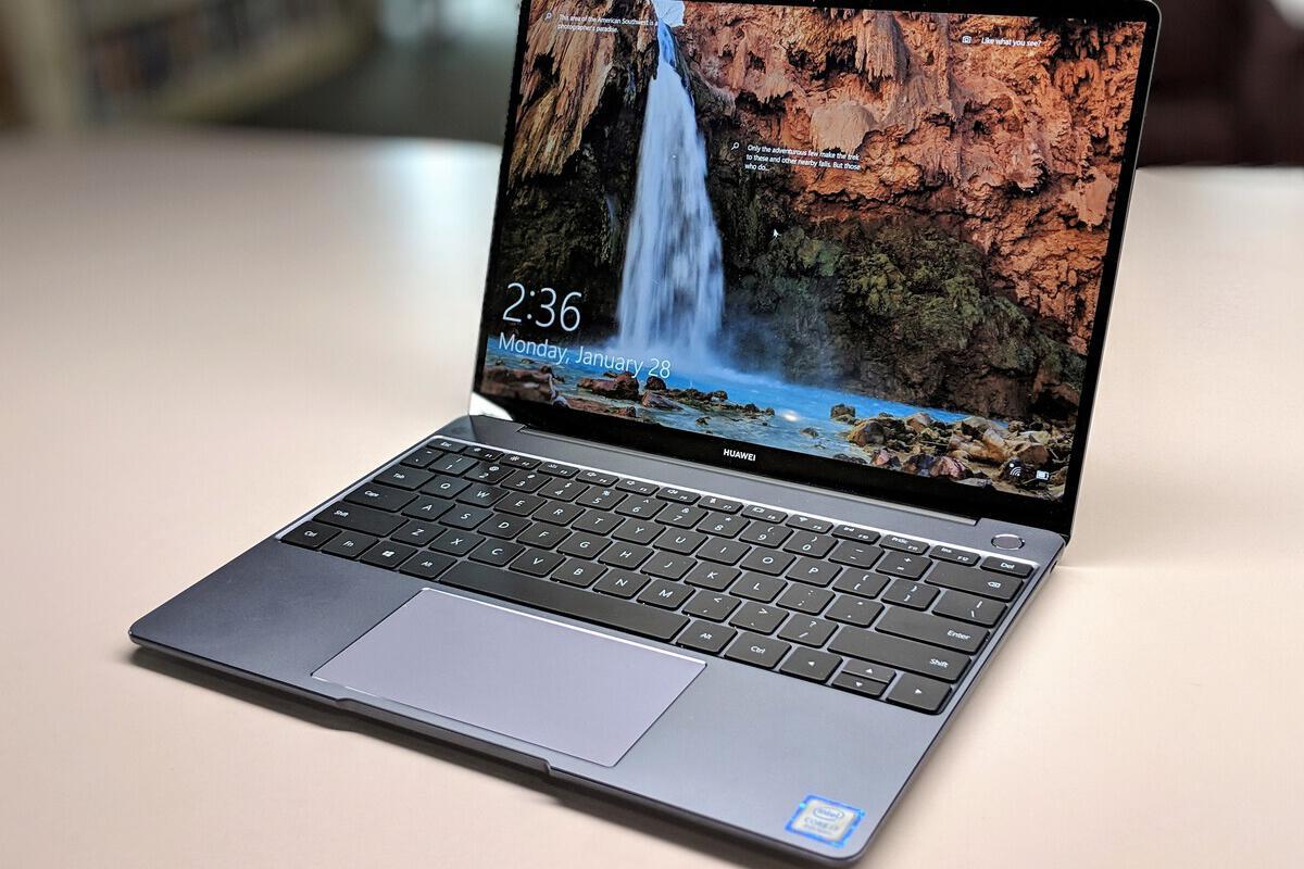 Huawei Matebook 13 review: a powerful GPU and Whiskey Lake