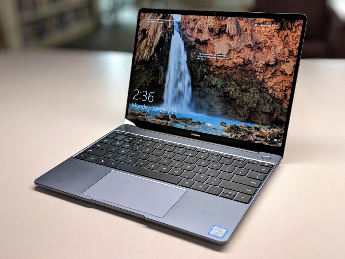 Huawei Matebook 13 review: a powerful GPU and Whiskey Lake