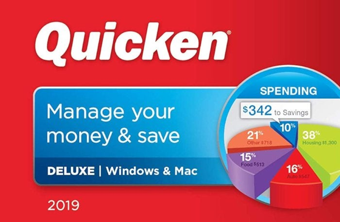 Get a jump on your 2019 finances with Quicken 2019 for less