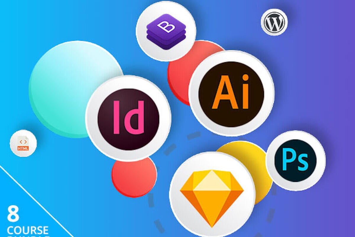 QnA VBage This Graphic Design Training Bundle Is Just $39 Today