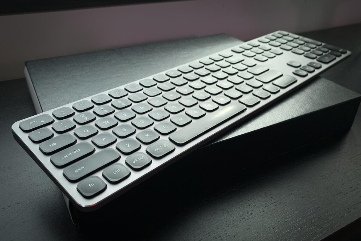 b2ef2ac843d Satechi Aluminum Bluetooth Keyboard with Numeric Keypad review | Macworld