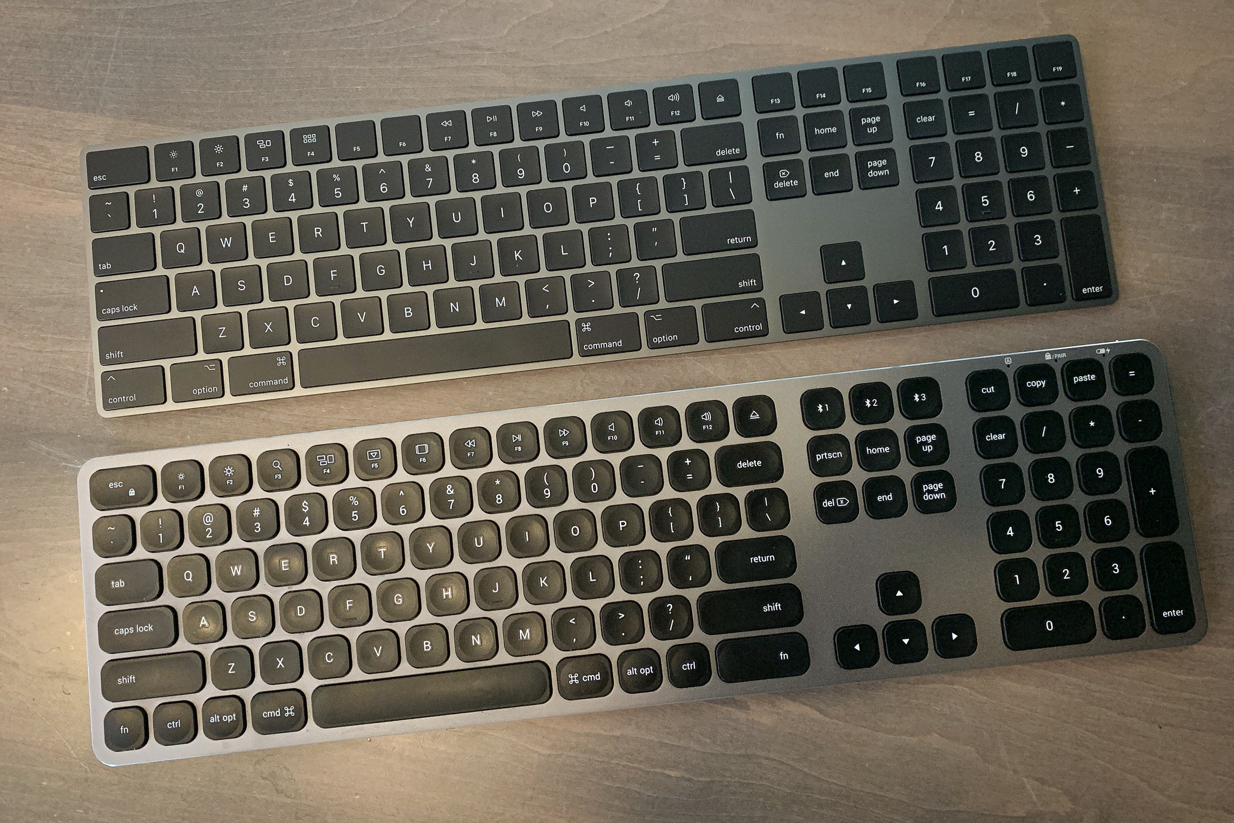 satechi aluminum bluetooth keyboard with numeric keypad review macworld. Black Bedroom Furniture Sets. Home Design Ideas