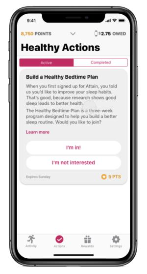 Attain CVS Aetna mobile healthcare