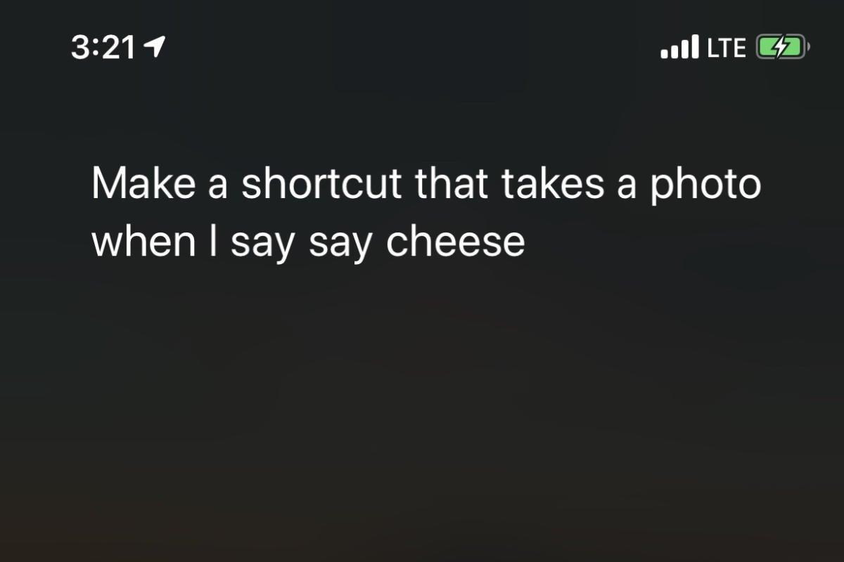 shortcut say cheese