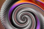 snake skin fractal