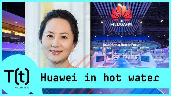 Huawei in hot water, more on Apple's rocky first-quarter | TECH(feed)