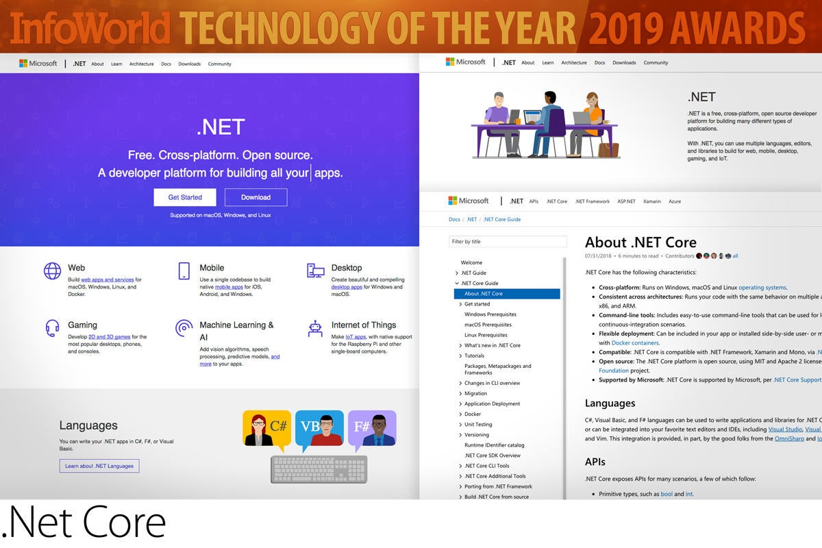 The year's best in software development, cloud, and machine
