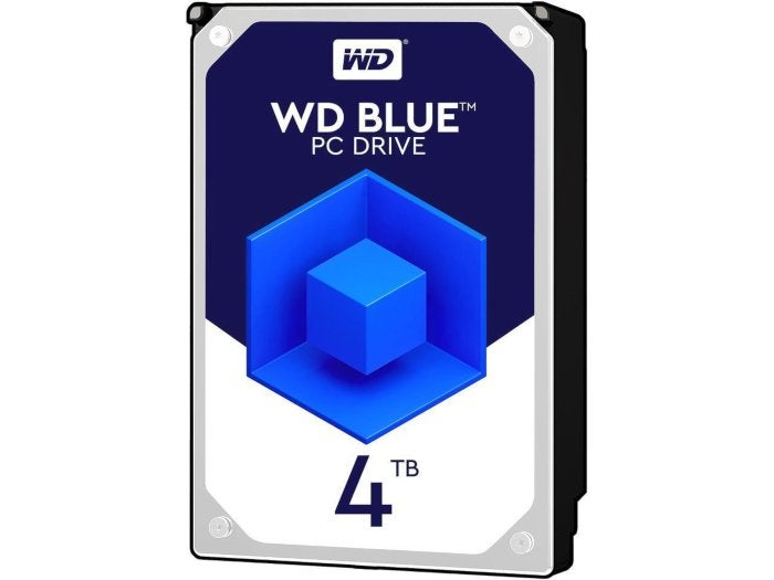 Massive storage at a miniature price: This 4TB WD Blue hard