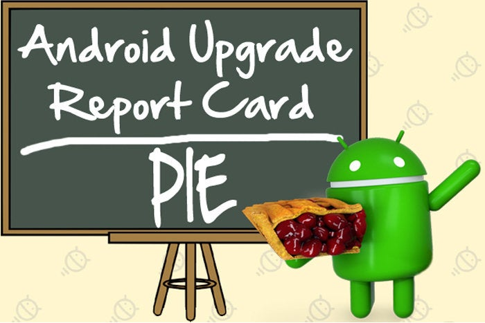 Android Upgrade Report Card: Pie
