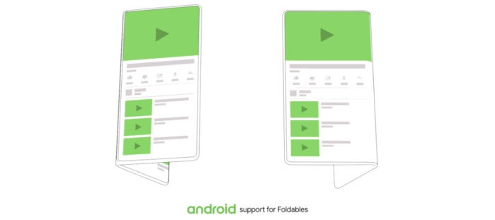 android foldable closed