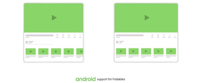 android foldable open