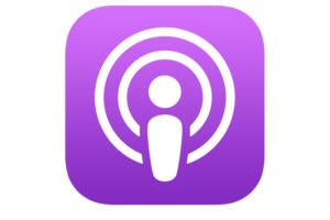 apple podcast ios icon