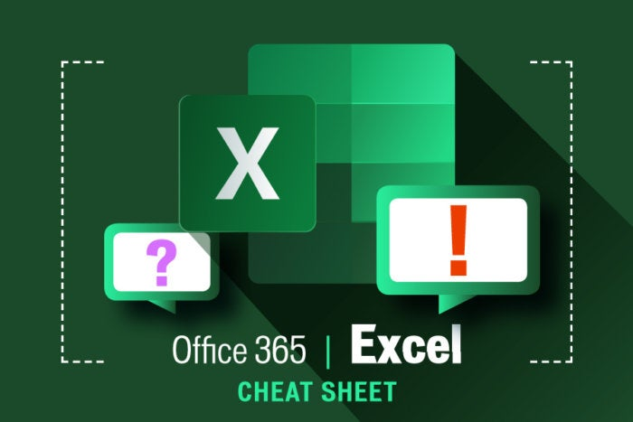 Excel for Office 365 cheat sheet | ITworld