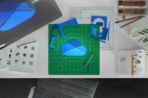 Microsoft > Office 365 > OneDrive logo