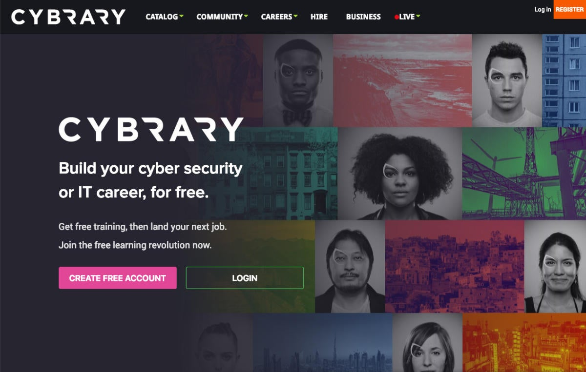 cybrary homepage  - cybrary homepage 100788341 large - 7 cheap or free cyber security training resources