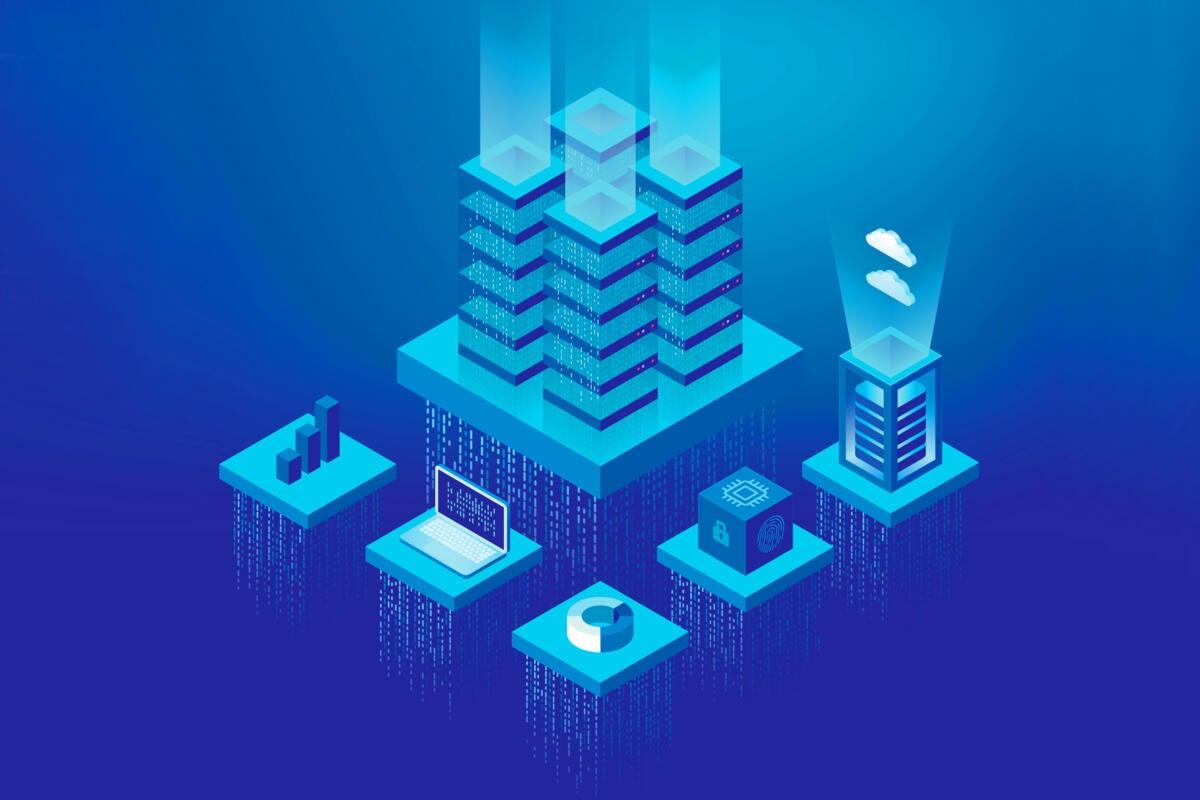 data center / network servers