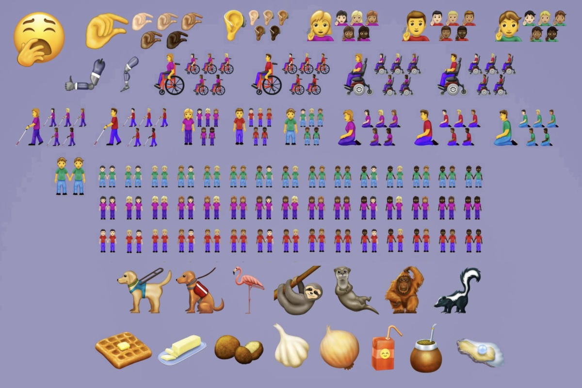 These are the 230 new emojis coming to your iPhone and Mac
