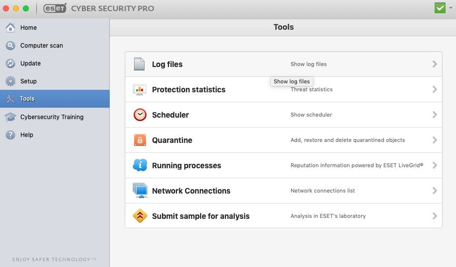 Eset Cyber Security Pro For Mac Review High Level Of