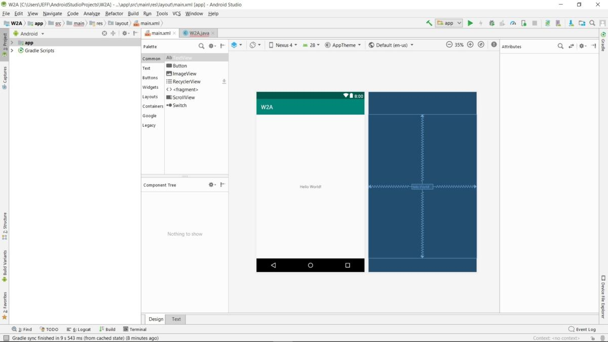 Android Studio for beginners, Part 2: Explore and code the app